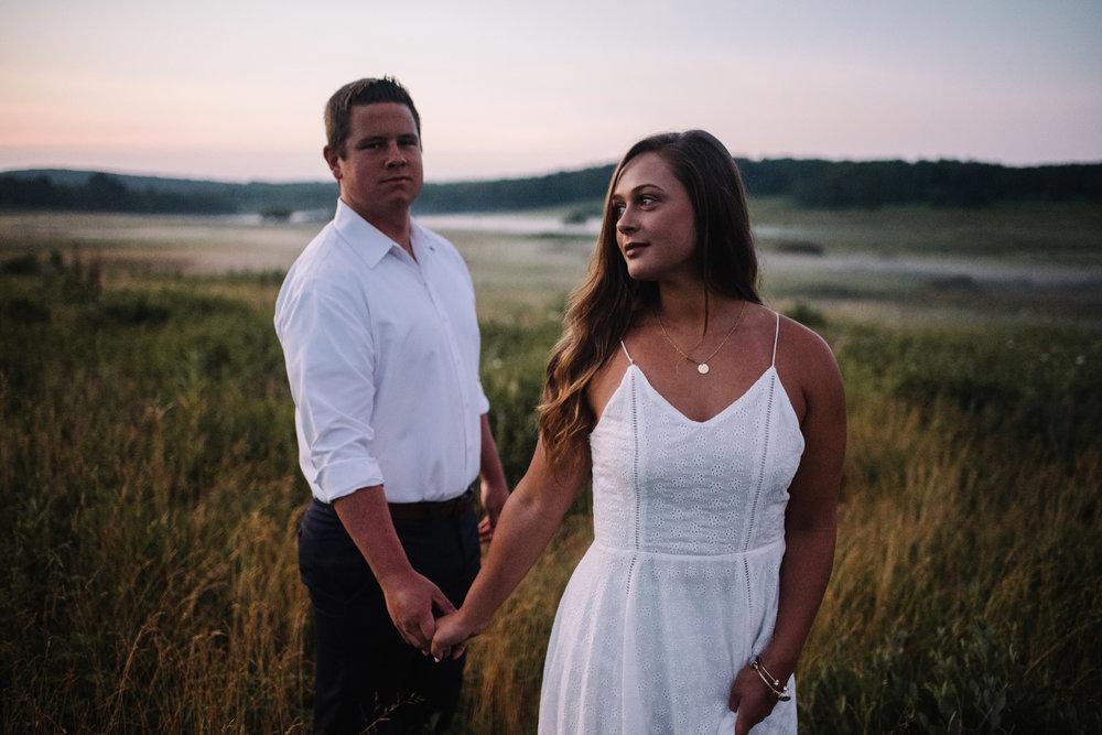 Erin and Matt - Shenandoah National Park Adventurous Sunrise Engagement Couple Photos - White Sails Creative_8.JPG
