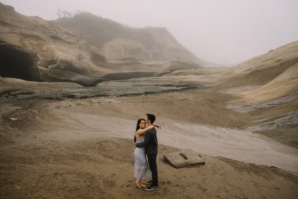 Ruthie and Anthony - Foggy Oregon Coast Couple Adventure Session - White Sails Photography Creative.JPG