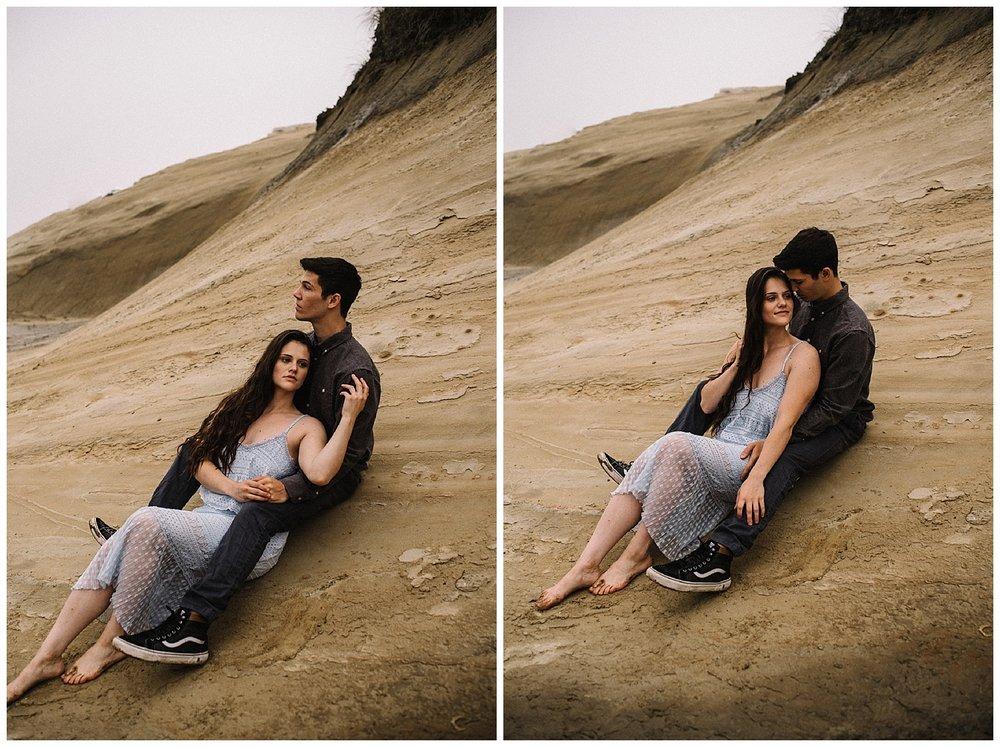 Ruthie and Anthony - Foggy Oregon Coast Couple Adventure Session - White Sails Photography Creative_9.jpg