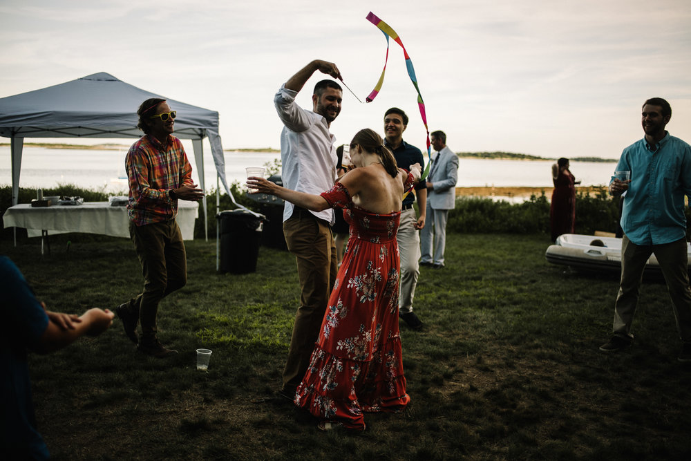Damian and Jesse Chebeague Island Maine Backyard Destination Beach Wedding White Sails Creative_19.JPG