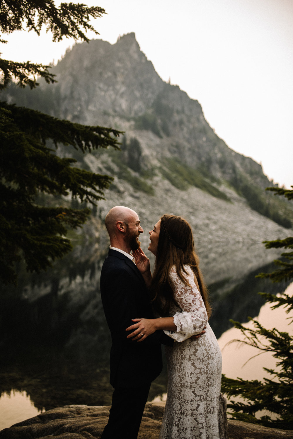 Megan and Andrew Lake Valhalla Washington PNW Adventure Elopement White Sails Creative Sunrise Hike_4.JPG