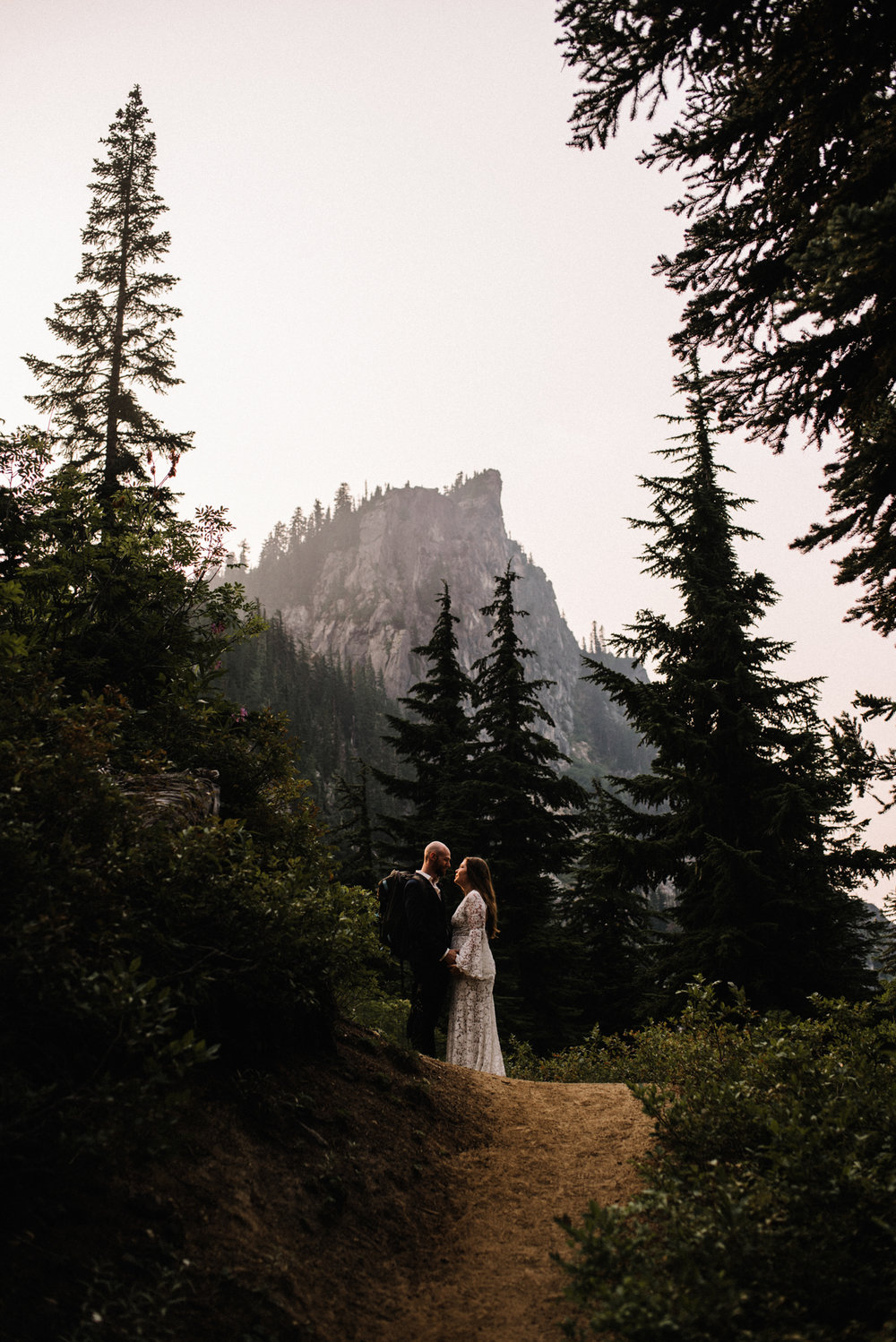 Megan and Andrew Lake Valhalla Washington PNW Adventure Elopement White Sails Creative Sunrise Hike_9.JPG