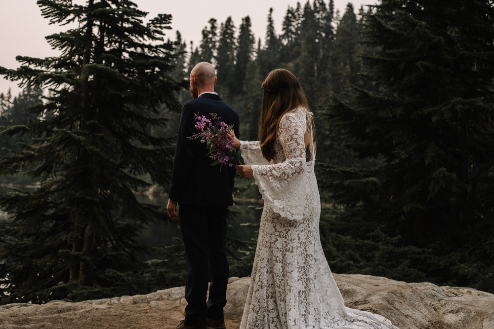 Megan and Andrew Lake Valhalla Washington PNW Adventure Elopement White Sails Creative Sunrise Hike_51.JPG