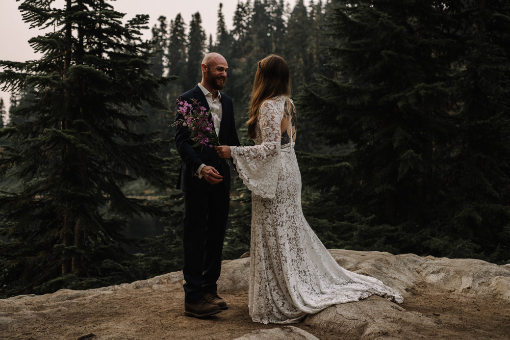 Megan and Andrew Lake Valhalla Washington PNW Adventure Elopement White Sails Creative Sunrise Hike_52.JPG