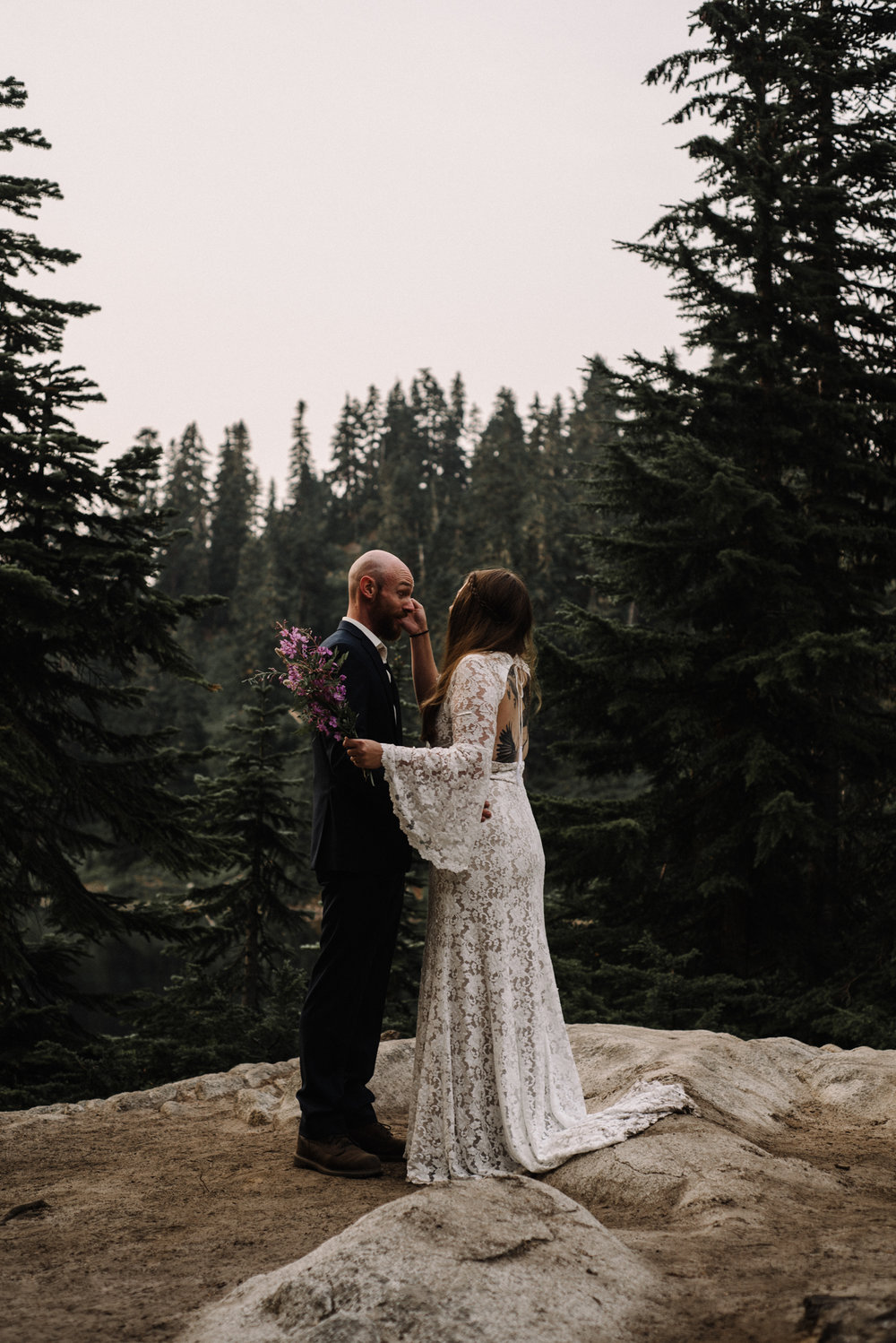 Megan and Andrew Lake Valhalla Washington PNW Adventure Elopement White Sails Creative Sunrise Hike_54.JPG