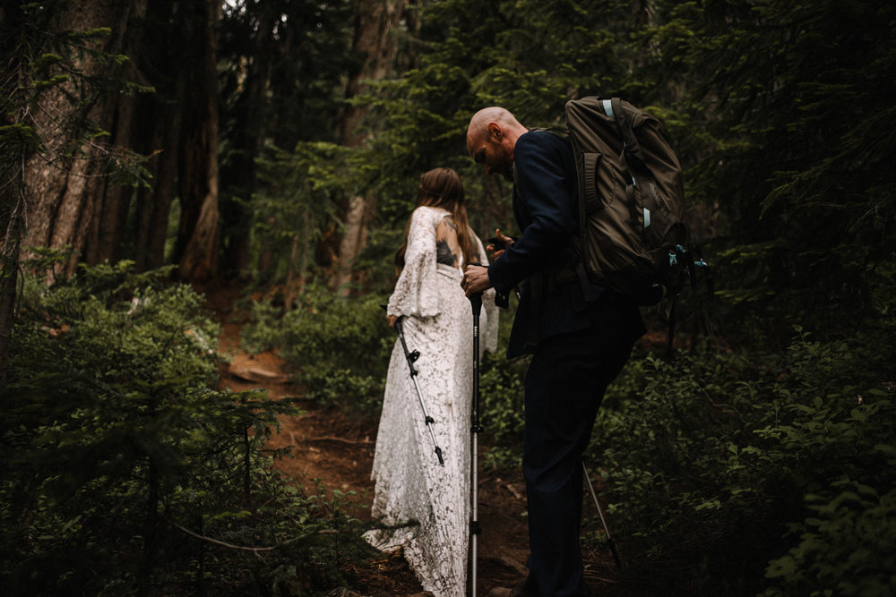 Megan and Andrew Lake Valhalla Washington PNW Adventure Elopement White Sails Creative Sunrise Hike_66.JPG