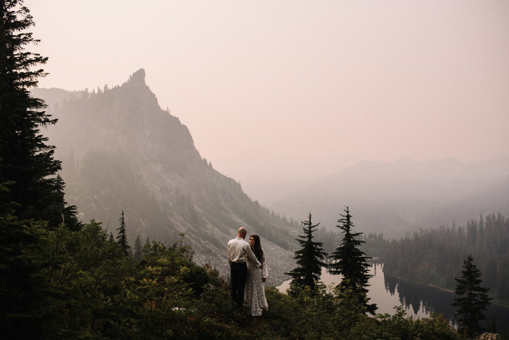 Megan and Andrew Lake Valhalla Washington PNW Adventure Elopement White Sails Creative Sunrise Hike_76.JPG