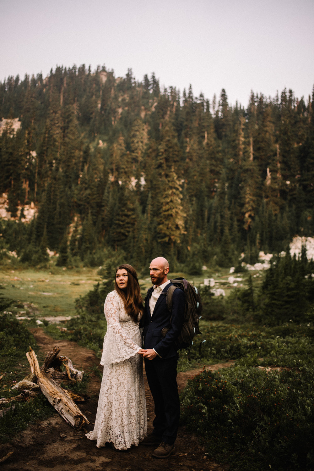 Megan and Andrew Lake Valhalla Washington PNW Adventure Elopement White Sails Creative Sunrise Hike_7.JPG