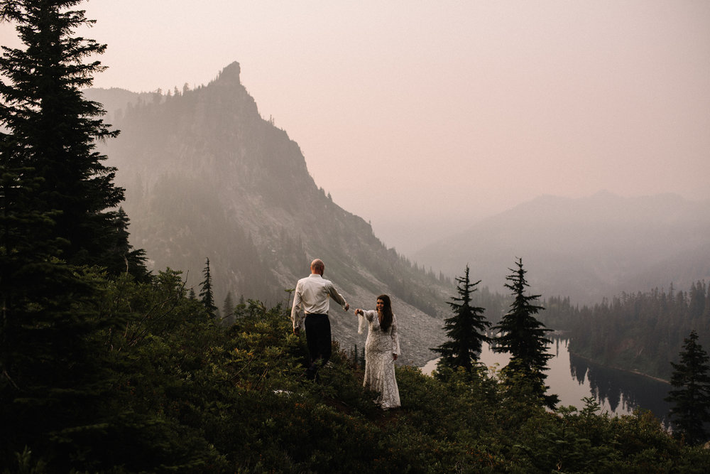 Megan and Andrew Lake Valhalla Washington PNW Adventure Elopement White Sails Creative Sunrise Hike_109.JPG