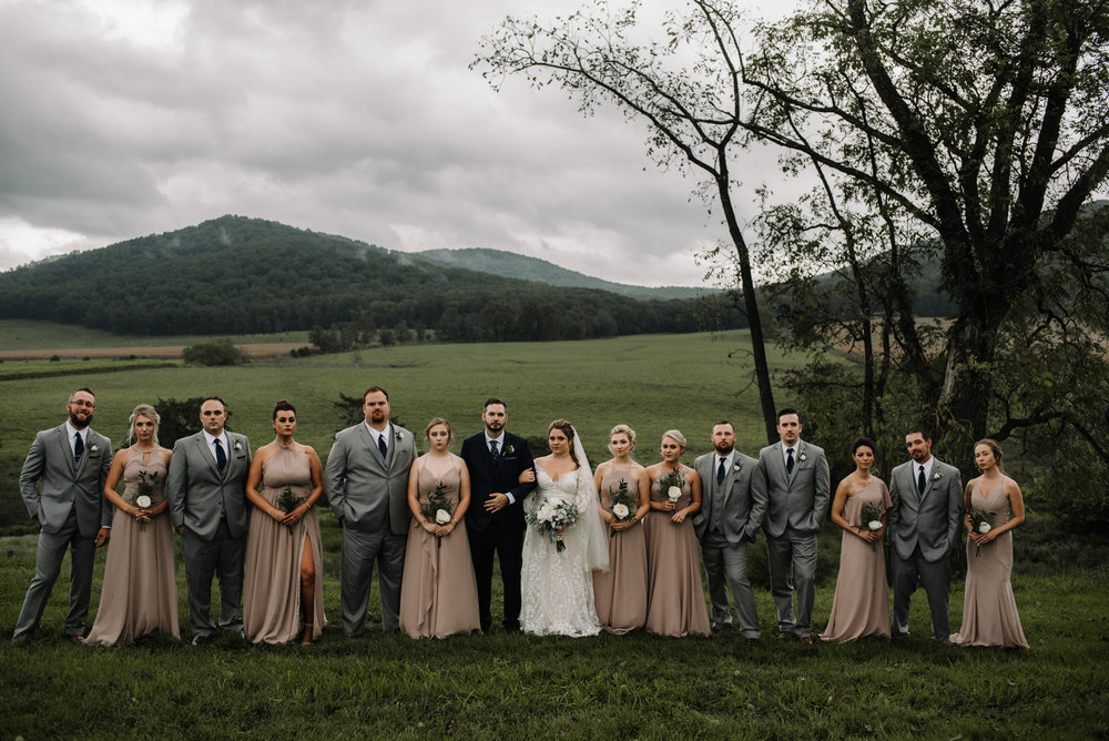 Jordan and Danielle - Shenandoah Woods Luray Virginia Wedding - Foggy Mountain and Forest Wedding - White Sails Creative Photography_63.JPG