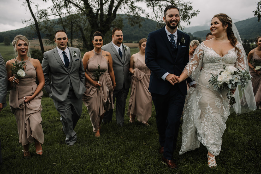 Jordan and Danielle - Shenandoah Woods Luray Virginia Wedding - Foggy Mountain and Forest Wedding - White Sails Creative Photography_64.JPG