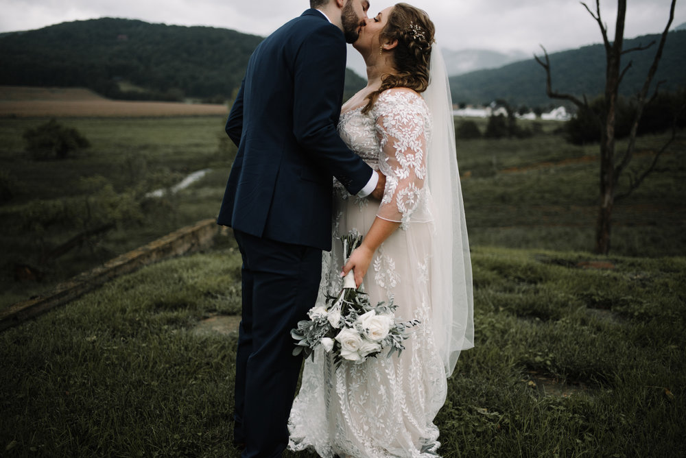 Jordan and Danielle - Shenandoah Woods Luray Virginia Wedding - Foggy Mountain and Forest Wedding - White Sails Creative Photography_75.JPG