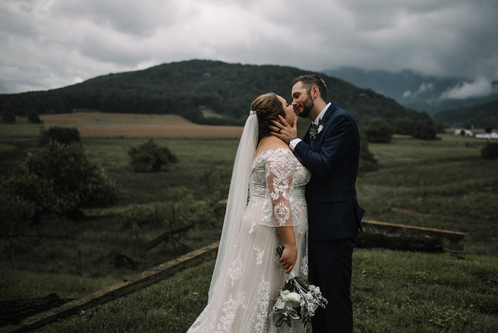 Jordan and Danielle - Shenandoah Woods Luray Virginia Wedding - Foggy Mountain and Forest Wedding - White Sails Creative Photography_90.JPG