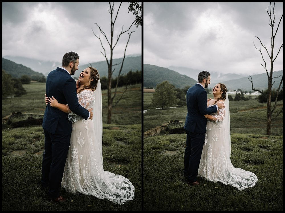 Jordan and Danielle - Shenandoah Woods Luray Virginia Wedding - Foggy Mountain and Forest Wedding - White Sails Creative Photography_80.jpg