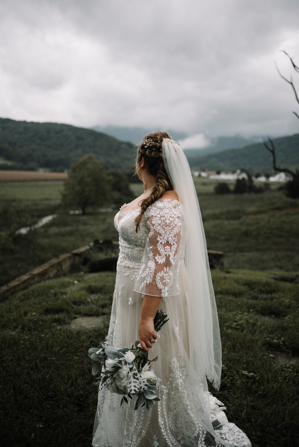 Jordan and Danielle - Shenandoah Woods Luray Virginia Wedding - Foggy Mountain and Forest Wedding - White Sails Creative Photography_87.JPG