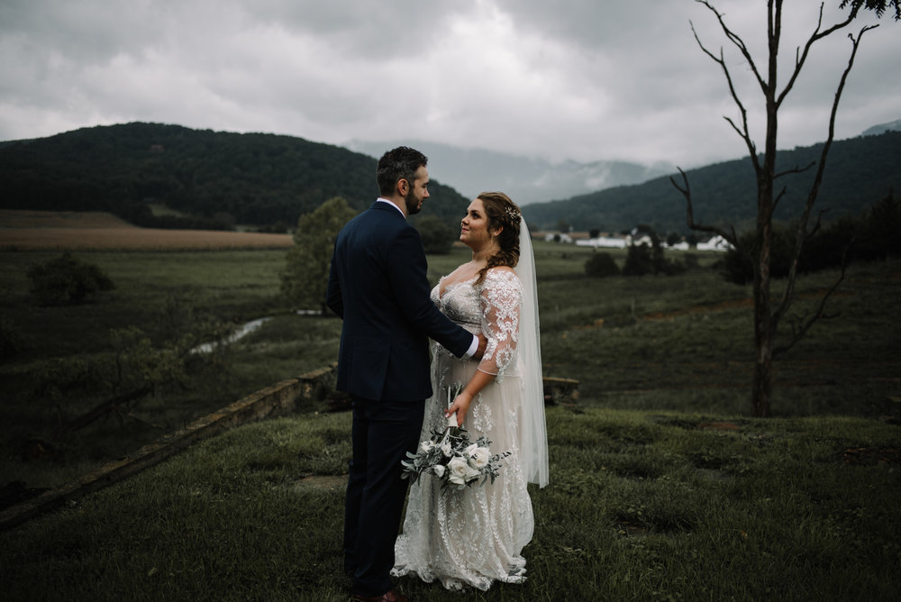Jordan and Danielle - Shenandoah Woods Luray Virginia Wedding - Foggy Mountain and Forest Wedding - White Sails Creative Photography_74.JPG