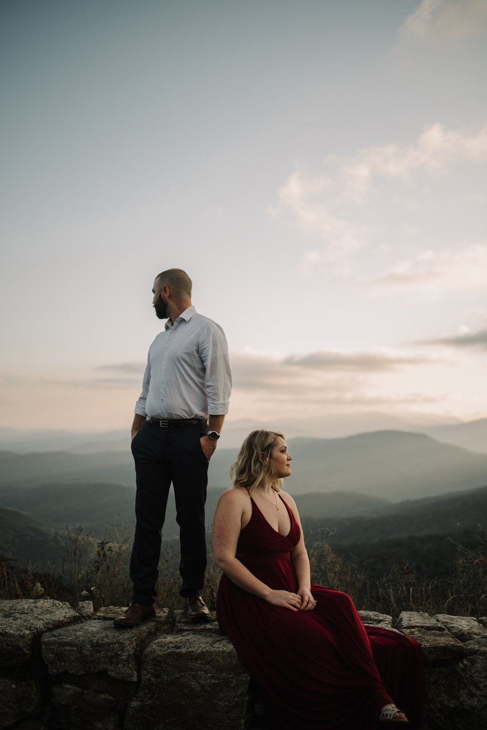 Allie _ Greg - Engagement Session - Shenandoah National Park - White Sails Creative_82.JPG