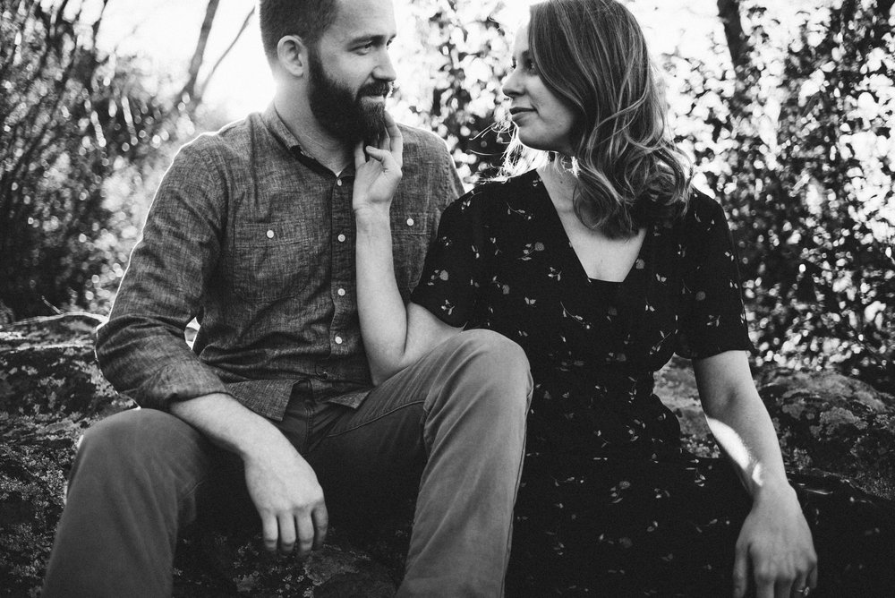 Molly and Zach Engagement Session - Fall Autumn Sunset Couple Adventure Session - Shenandoah National Park - Blue Ridge Parkway Skyline Drive - White Sails Creative_3.JPG