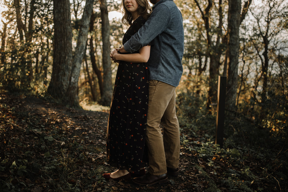 Molly and Zach Engagement Session - Fall Autumn Sunset Couple Adventure Session - Shenandoah National Park - Blue Ridge Parkway Skyline Drive - White Sails Creative_22.JPG