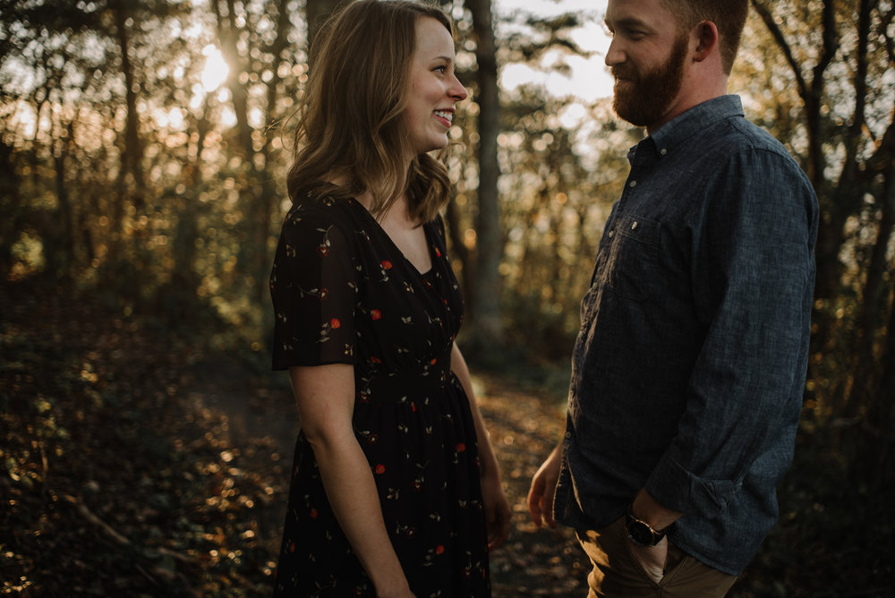 Molly and Zach Engagement Session - Fall Autumn Sunset Couple Adventure Session - Shenandoah National Park - Blue Ridge Parkway Skyline Drive - White Sails Creative_25.JPG