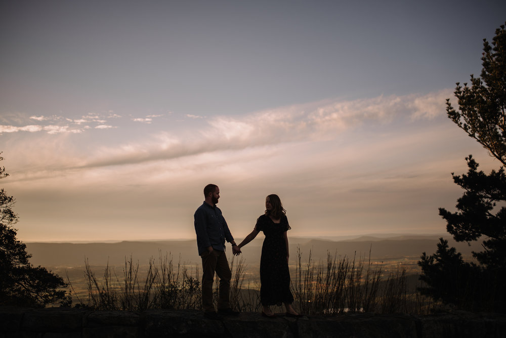 Molly and Zach Engagement Session - Fall Autumn Sunset Couple Adventure Session - Shenandoah National Park - Blue Ridge Parkway Skyline Drive - White Sails Creative_31.JPG