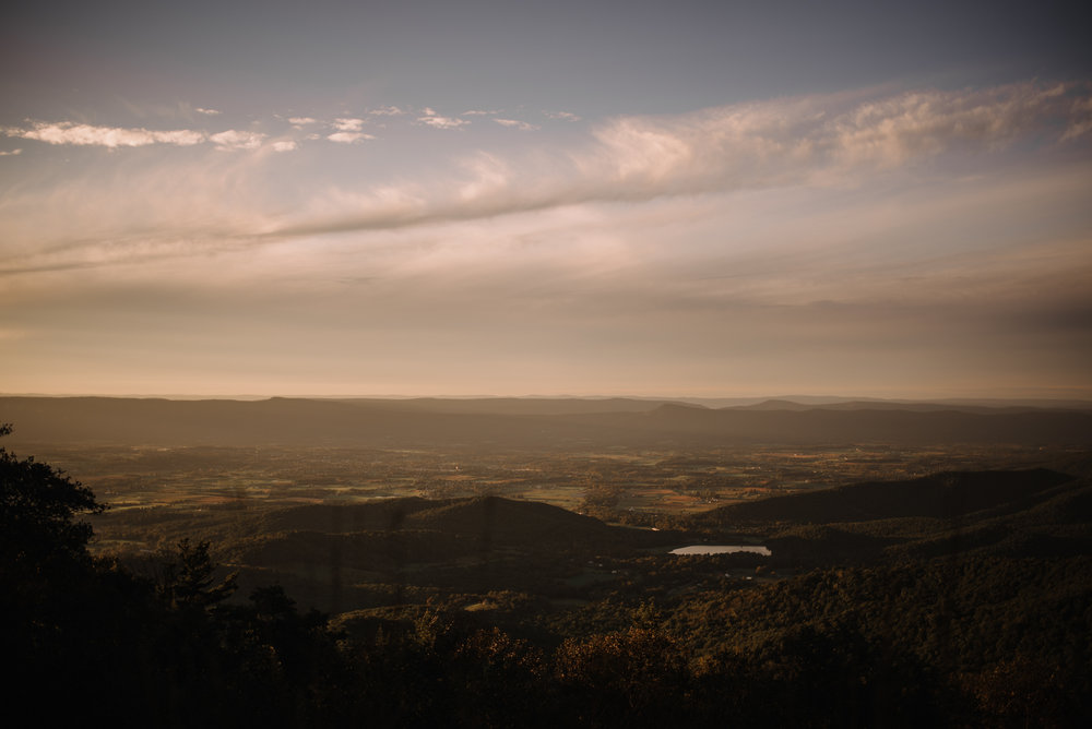 Molly and Zach Engagement Session - Fall Autumn Sunset Couple Adventure Session - Shenandoah National Park - Blue Ridge Parkway Skyline Drive - White Sails Creative_34.JPG