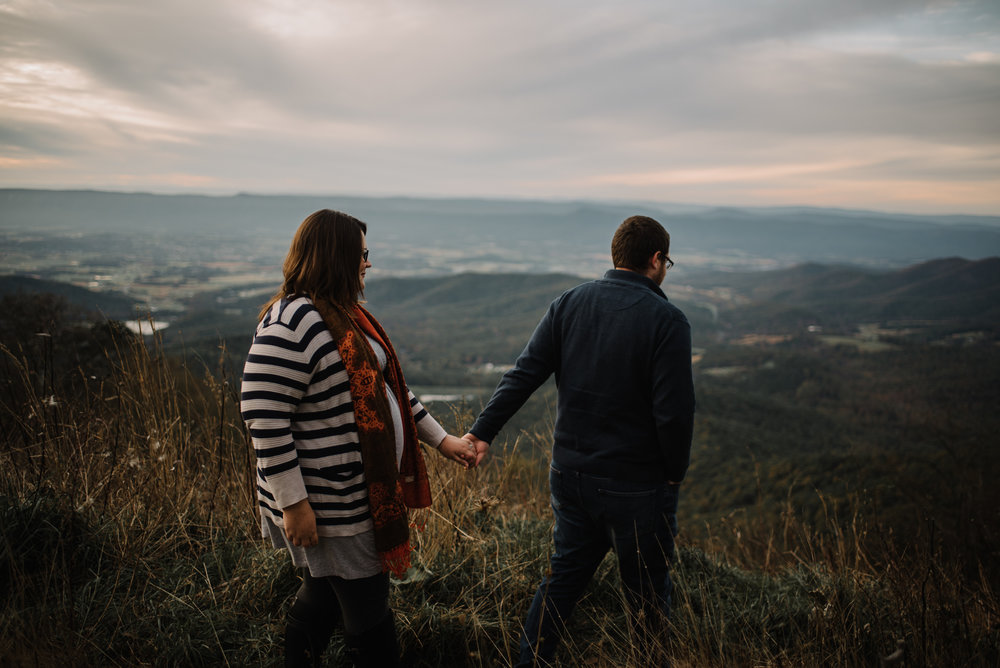 Sarah and Evan Maternity Session Shenandoah National Park Blue Ridge Mountains Skyline Drive Adventure Photographer White Sails Creative_8.JPG