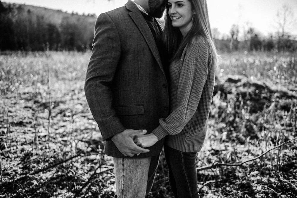 Emily and Hoyle - Shenandoah Valley Engagement Session - Winter Sunset - Downtown Old Movie Theater - Back yard Virginia Farm Wedding_39.JPG