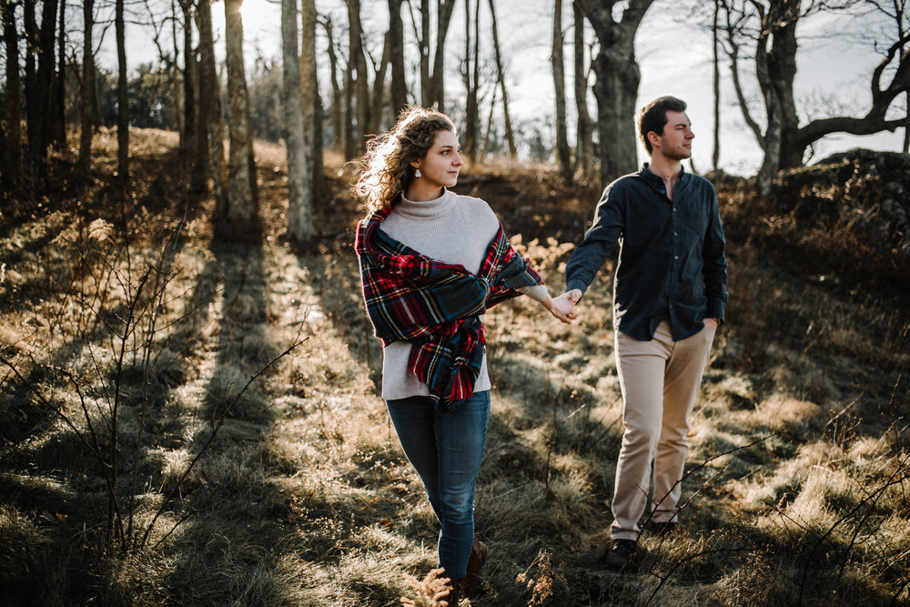 Alli and Mitchell - Shenandoah National Park Adventure Winter Engagement Session on Skyline Drive - White Sails Creative Elopement Photography_32.JPG