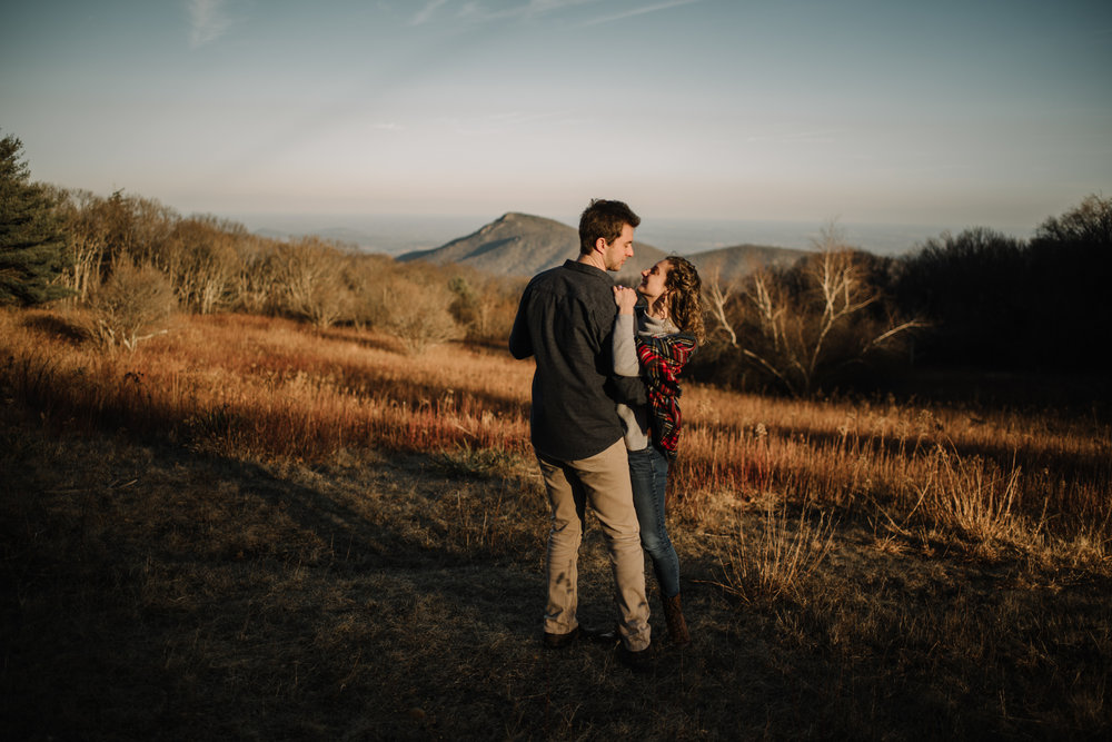 Alli and Mitchell - Shenandoah National Park Adventure Winter Engagement Session on Skyline Drive - White Sails Creative Elopement Photography_36.JPG