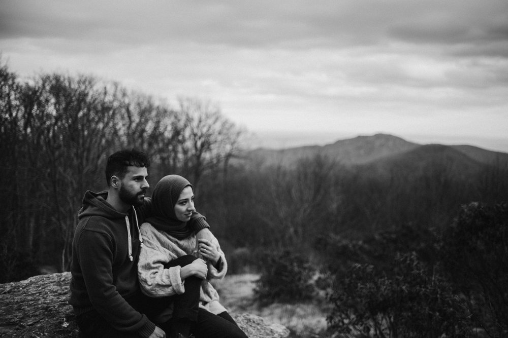 Safa and Ali - Shenandoah National Park Adventure Engagement Session - Blue Ridge Parkway - Skyline Drive - Blue Ridge Mountains - Virginia Elopement Photographer_6.JPG