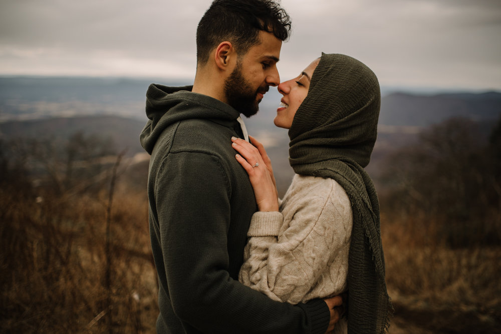 Safa and Ali - Shenandoah National Park Adventure Engagement Session - Blue Ridge Parkway - Skyline Drive - Blue Ridge Mountains - Virginia Elopement Photographer_13.JPG