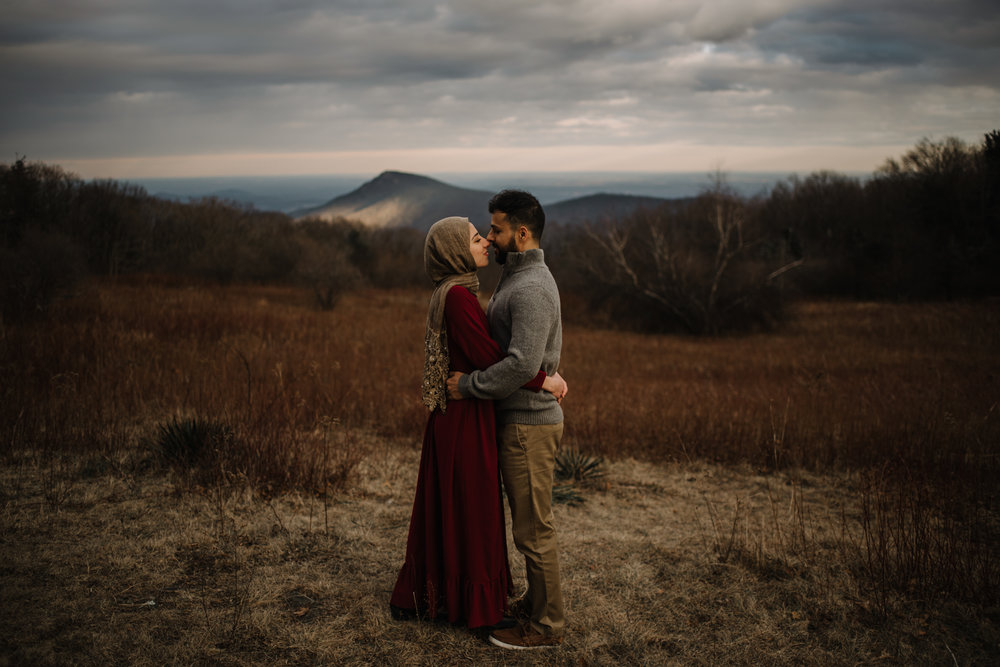 Safa and Ali - Shenandoah National Park Adventure Engagement Session - Blue Ridge Parkway - Skyline Drive - Blue Ridge Mountains - Virginia Elopement Photographer_18.JPG