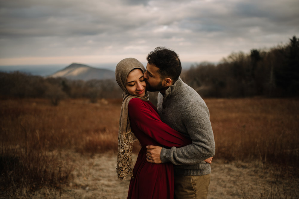 Safa and Ali - Shenandoah National Park Adventure Engagement Session - Blue Ridge Parkway - Skyline Drive - Blue Ridge Mountains - Virginia Elopement Photographer_21.JPG
