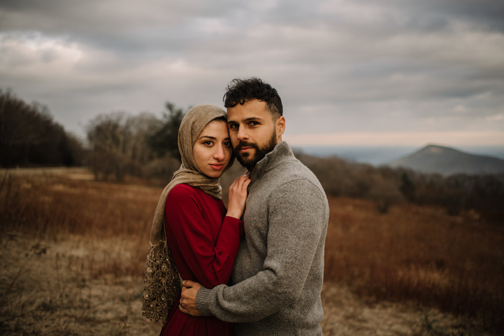 Safa and Ali - Shenandoah National Park Adventure Engagement Session - Blue Ridge Parkway - Skyline Drive - Blue Ridge Mountains - Virginia Elopement Photographer_22.JPG