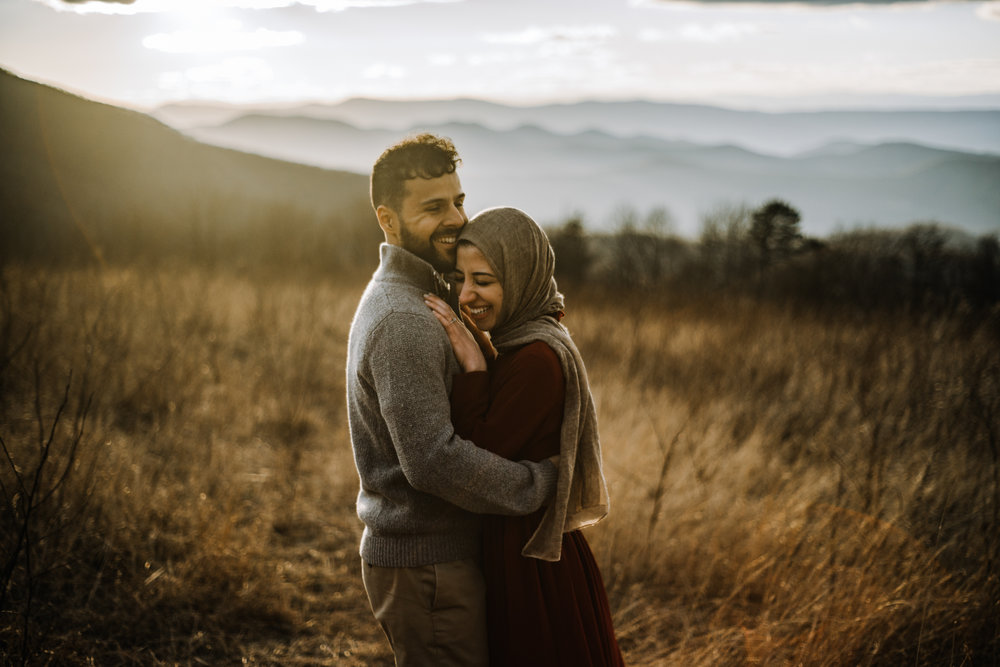 Safa and Ali - Shenandoah National Park Adventure Engagement Session - Blue Ridge Parkway - Skyline Drive - Blue Ridge Mountains - Virginia Elopement Photographer_27.JPG