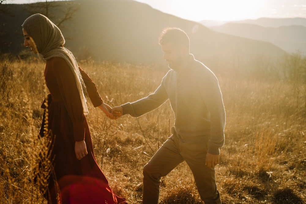 Safa and Ali - Shenandoah National Park Adventure Engagement Session - Blue Ridge Parkway - Skyline Drive - Blue Ridge Mountains - Virginia Elopement Photographer_30.JPG