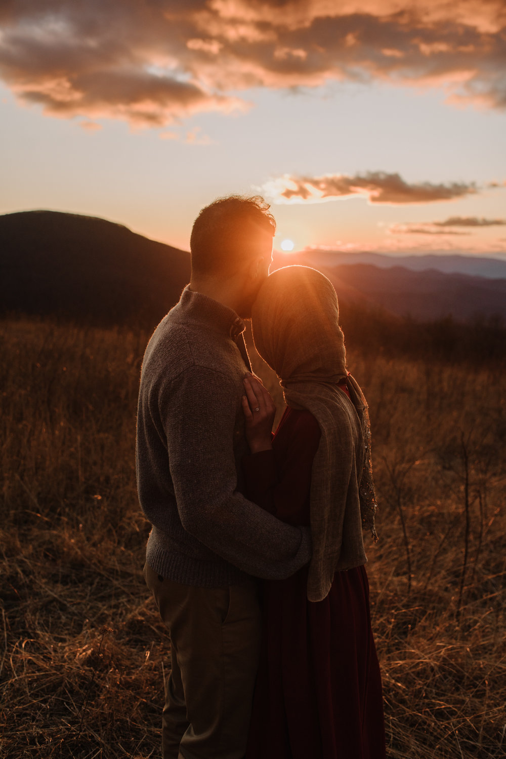 Safa and Ali - Shenandoah National Park Adventure Engagement Session - Blue Ridge Parkway - Skyline Drive - Blue Ridge Mountains - Virginia Elopement Photographer_36.JPG