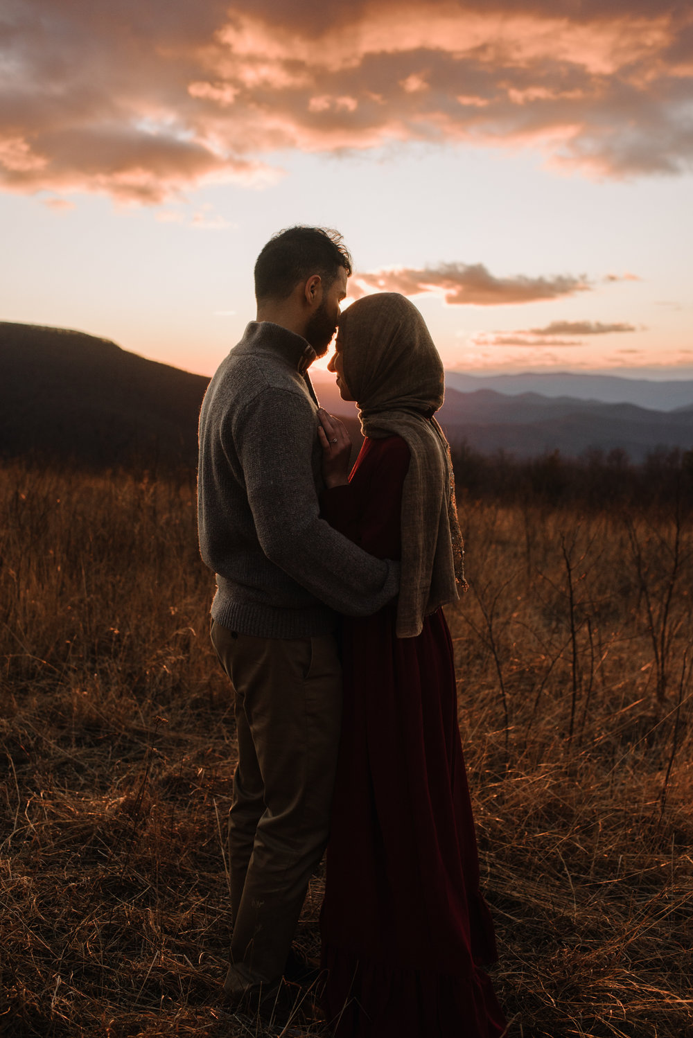 Safa and Ali - Shenandoah National Park Adventure Engagement Session - Blue Ridge Parkway - Skyline Drive - Blue Ridge Mountains - Virginia Elopement Photographer_37.JPG