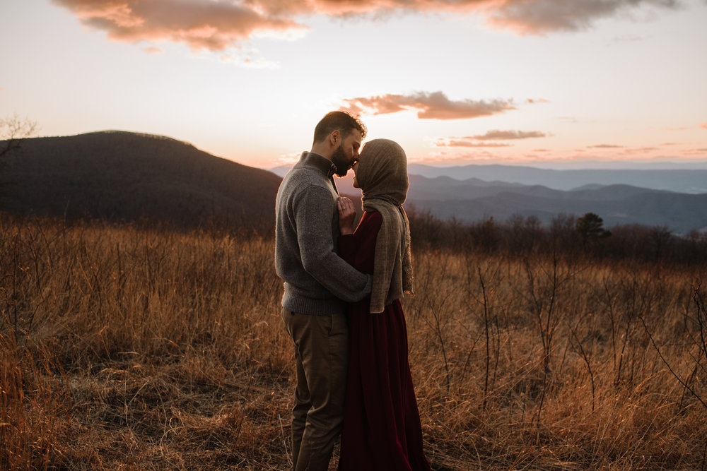 Safa and Ali - Shenandoah National Park Adventure Engagement Session - Blue Ridge Parkway - Skyline Drive - Blue Ridge Mountains - Virginia Elopement Photographer_38.JPG
