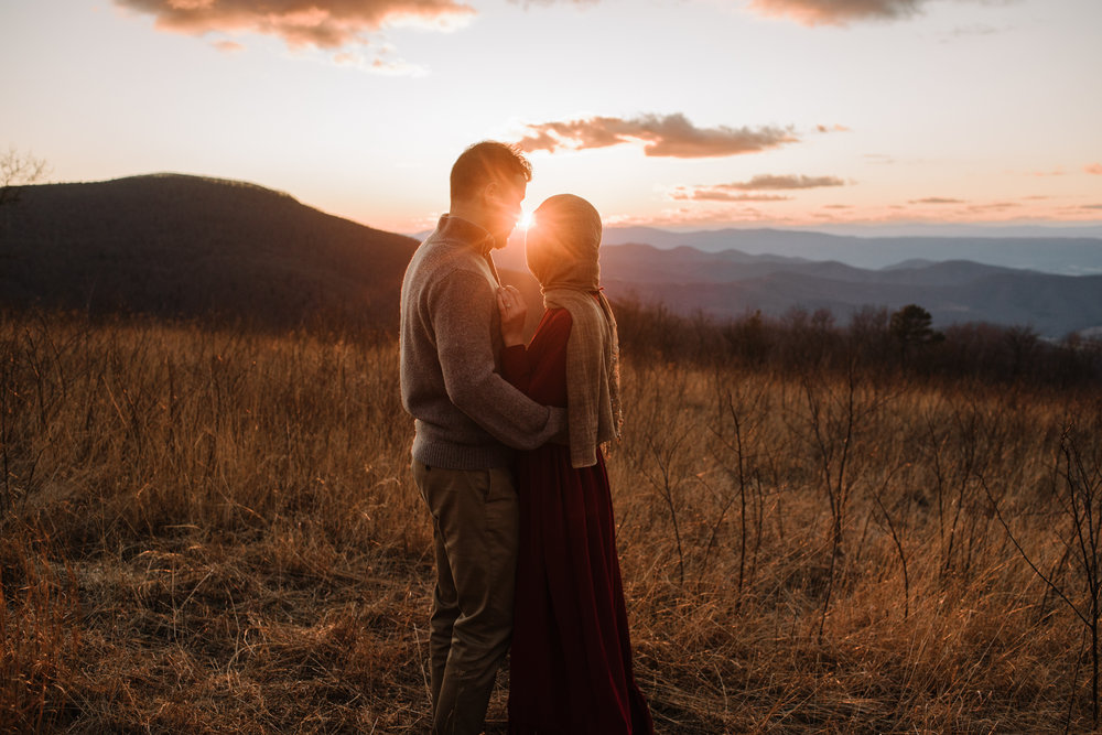 Safa and Ali - Shenandoah National Park Adventure Engagement Session - Blue Ridge Parkway - Skyline Drive - Blue Ridge Mountains - Virginia Elopement Photographer_39.JPG