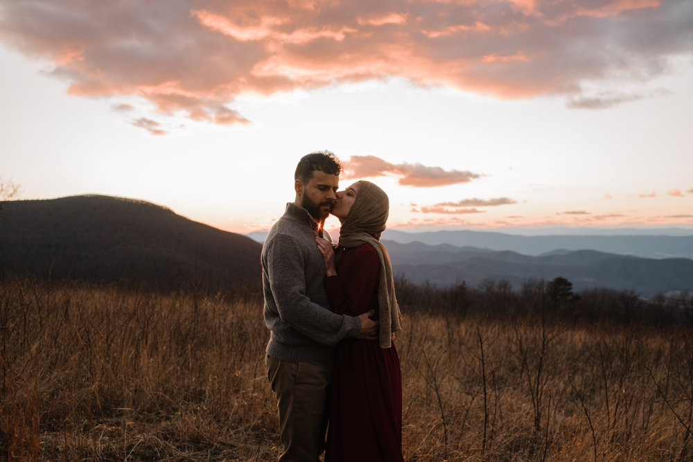 Safa and Ali - Shenandoah National Park Adventure Engagement Session - Blue Ridge Parkway - Skyline Drive - Blue Ridge Mountains - Virginia Elopement Photographer_41.JPG