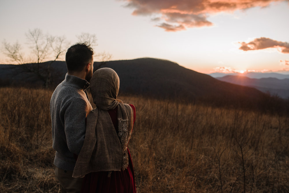 Safa and Ali - Shenandoah National Park Adventure Engagement Session - Blue Ridge Parkway - Skyline Drive - Blue Ridge Mountains - Virginia Elopement Photographer_42.JPG