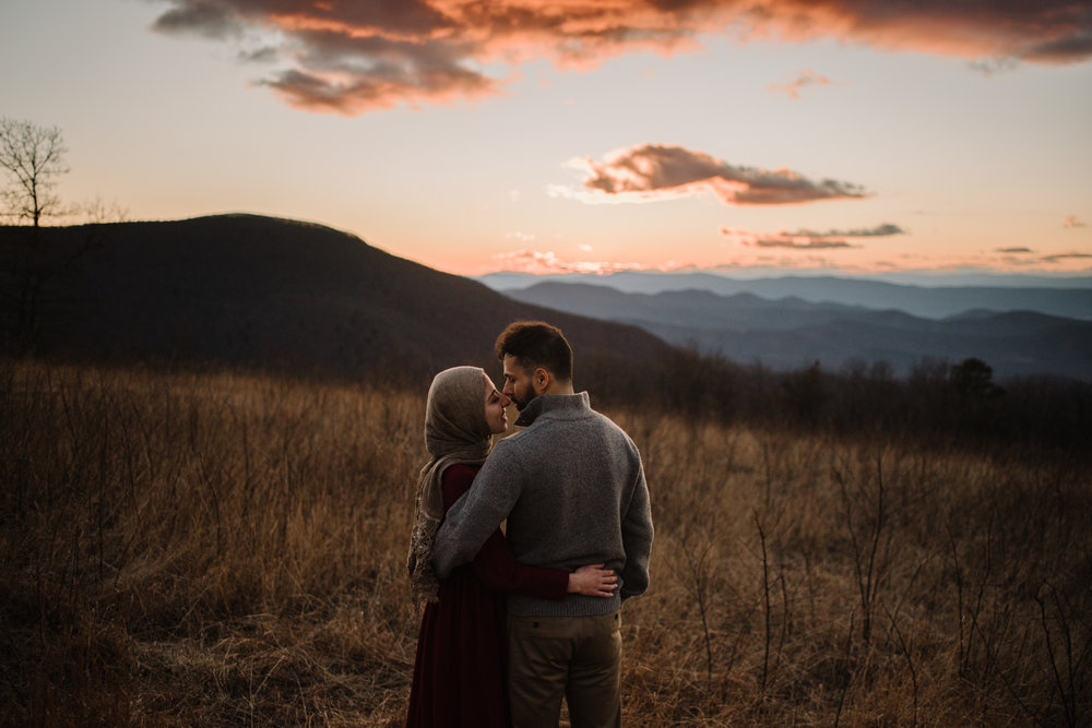Safa and Ali - Shenandoah National Park Adventure Engagement Session - Blue Ridge Parkway - Skyline Drive - Blue Ridge Mountains - Virginia Elopement Photographer_44.JPG