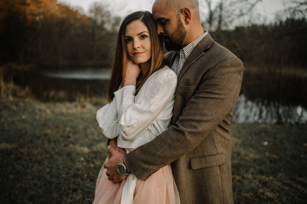 Emily and Hoyle - Shenandoah Valley Engagement Session - Winter Sunset - Downtown Old Movie Theater - Back yard Virginia Farm Wedding_31.JPG