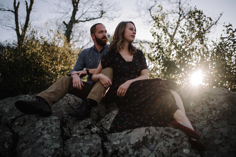 Molly and Zach Engagement Session - Fall Autumn Sunset Couple Adventure Session - Shenandoah National Park - Blue Ridge Parkway Skyline Drive - White Sails Creative_11.JPG