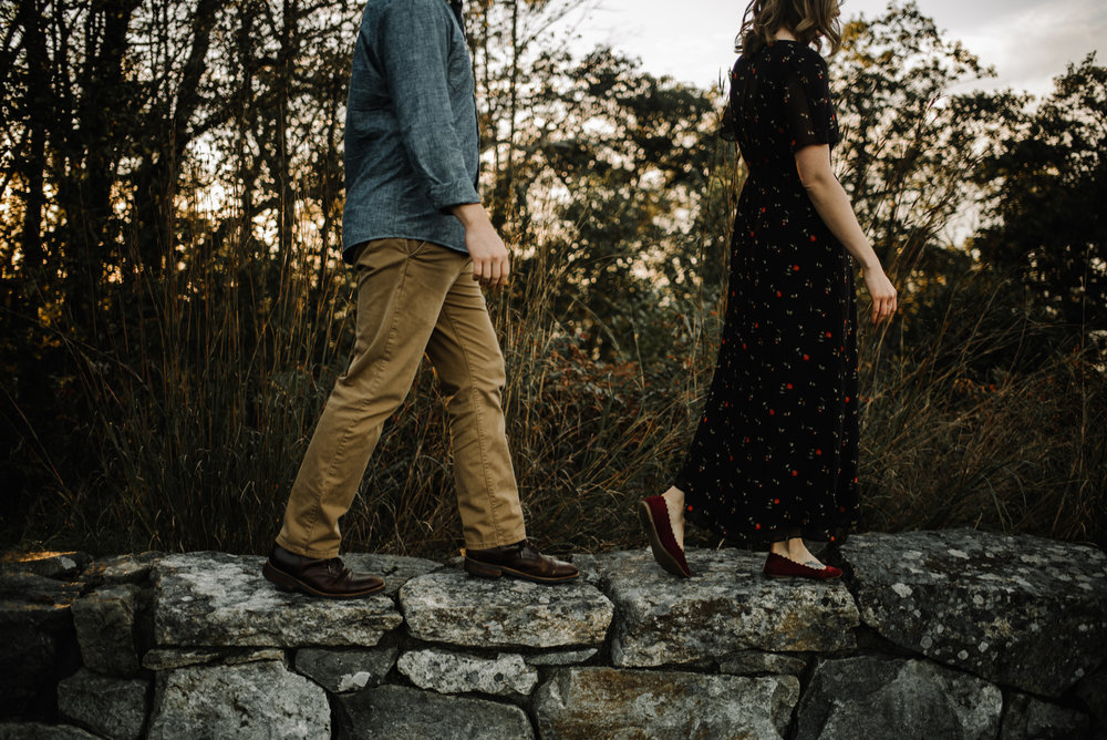 Molly and Zach Engagement Session - Fall Autumn Sunset Couple Adventure Session - Shenandoah National Park - Blue Ridge Parkway Skyline Drive - White Sails Creative_28.JPG