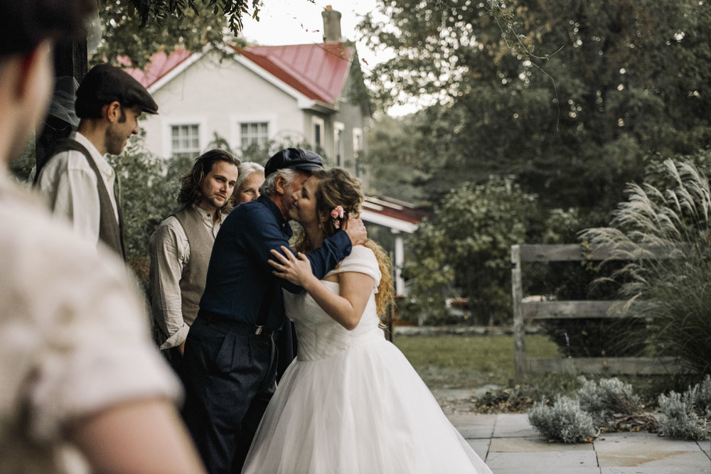 Hannah and Shannon - Autumn Back yard wedding - Loudoun County Little Washington Wedding - Intimate Wedding - White Sails Creative Photography_3.jpg