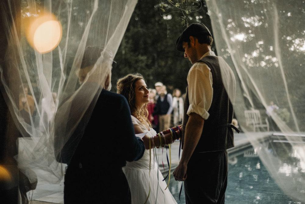 Hannah and Shannon - Autumn Back yard wedding - Loudoun County Little Washington Wedding - Intimate Wedding - White Sails Creative Photography_7.jpg