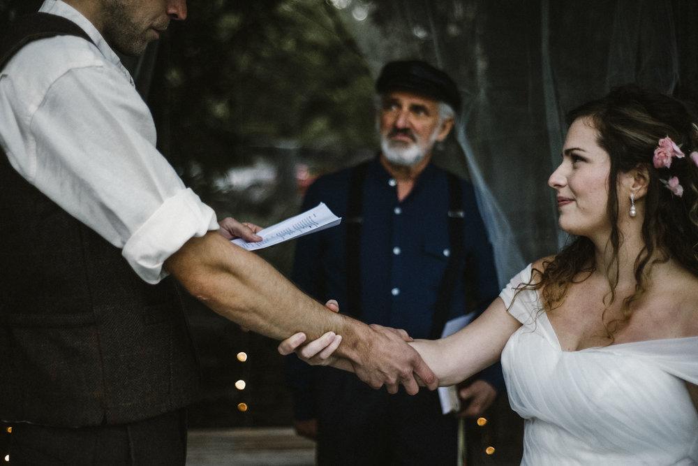 Hannah and Shannon - Autumn Back yard wedding - Loudoun County Little Washington Wedding - Intimate Wedding - White Sails Creative Photography_31.jpg